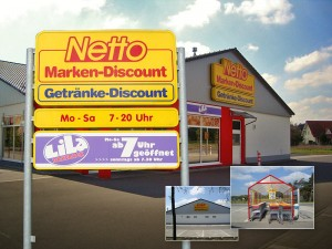 Netto-Markt in Wiesenau